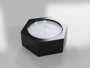 Hex Candle Cup