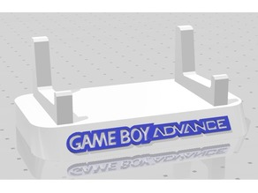 GBA Game Boy Advance V1 Display Stand (Repaired January 23)
