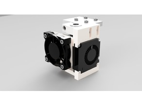 Mini Turbo Parts Cooling Fan assembly