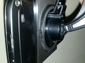 S4 active mount on a Garmin suction cup