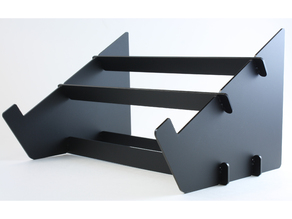 laser cut portable laptop stand 1/8th inch acrylic