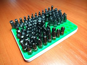 Stand for HEX bit holder