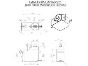 EMAX ES08AII Servo