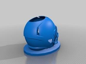 Football Helmet Pen Holder