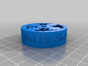 My Customized Emmet's Gear Bearing with  text