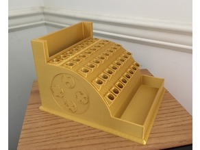 Cash Register Pencil/Pen Holder (40 holes)