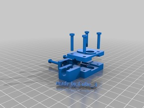 3D Systems Cube 3 cartridge mod V2 (NOW ADJUSTABLE!)