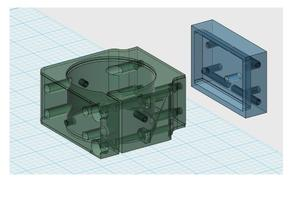 Hitachi M12VC bracket for mounting on PlasmaCam CNC