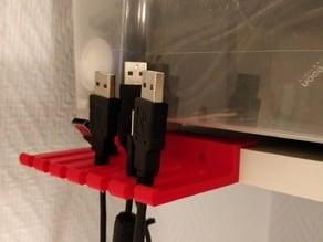 USB cable oganizer