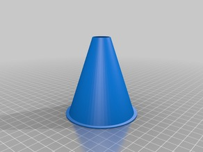 Small funnel for pouring oil or other liquids, completely customizable!