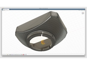 SONY FDR-AX33 Video Camera Lens Hood
