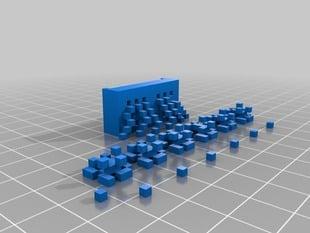 Minecraft 6-bit adder