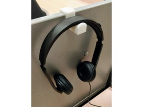 Desk headphone holder