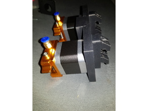 extruder plate dual ultimaker