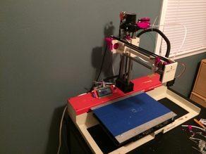 Converted Auto Pipetter to 3D Printer