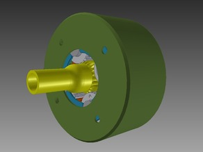 Planetary Gearbox - High Reduction Ratio (118.1:1)