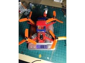Qav135 Brushless MiniDrone under 250 gr