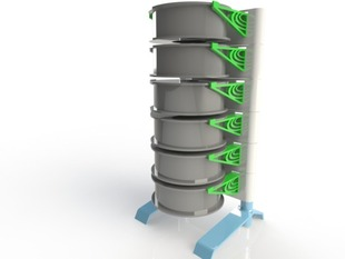 Spool Rack - Modular, Vertically Stacked
