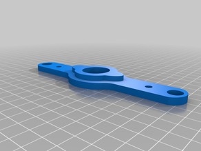 608 bearing seat with 10mm rods and 5mm screw holes