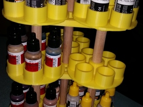 Rotating paint stand for 17ml Paint Bottles (AMMO of MIG)