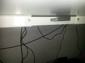 Ikea SKARSTA desk Headphones Holder