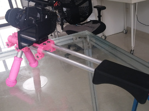 DSLR Shoulder Rig (15mm Rail) Remix