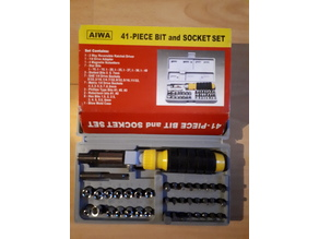 Automatic screwdriver locking nut for straight position