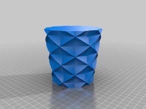 My Customized Star / Ellispe / Polygon Vase, Pen / Flower Pot Creator