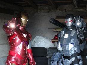 War Machine Suit - made of papakura files