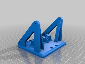 WIP Dual Customisable E3Dv6 Mount for Anet A8 with Bowden