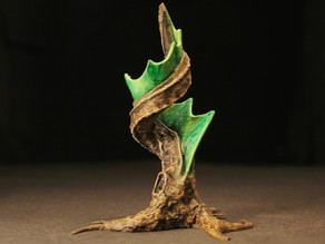 "Tabletop plant: ""Corkscrew-Tree"" (Alien Vegetation 08)"