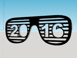 2016 Shutter Shades - Happy New Year