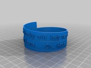 Dr Hook Spiral Poem Bracelet Mark 2