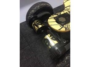 Engine / Belt cover for Evolve skateboard AT and street wheel.