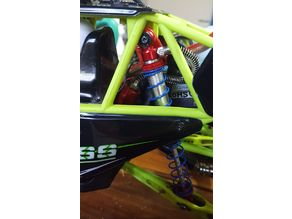 WLtoys 12428 rear shock risers