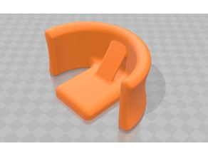 Smooth Headphone Wall/Pillar mount