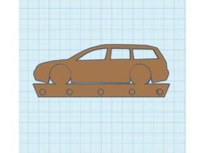 VW Passat Key Rack