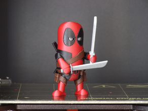 Mini Deadpool (multi-material remix)