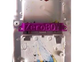 Button Helper Gameboy Zero ZeroBOY
