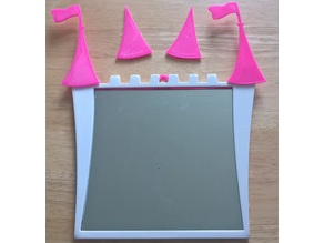 Pink Princess Mirror
