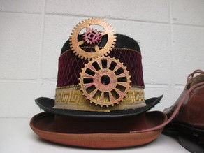 Steampunk Gears and Stencils