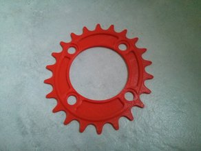 22T Oval Chainring