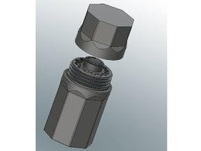 Metric Drill Bit Organizer