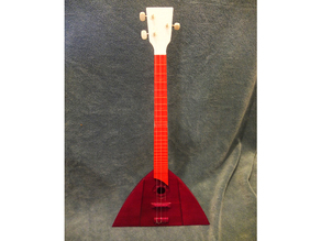 Balalaika (Russian Stringed Musical Instrument) *Prints Without Supports*