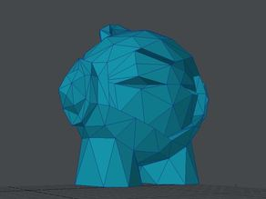 Marvin low poly