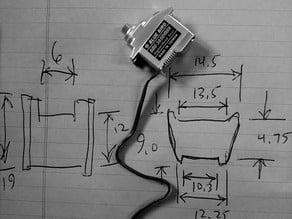 RCExplorer V3 -13mm tilt servo adapter