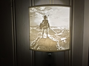 Customisable Night Light Lithophane