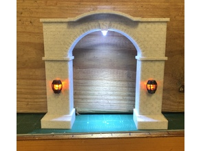 O Gauge Train Tunnel Entrance