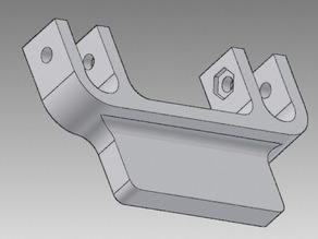 Clamp for X-axis rods on I3/P3 printer