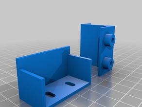 Carrier support for Wanhao Duplicator I3 Plus - fits original